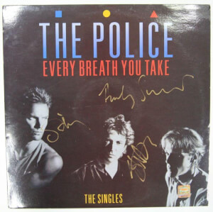 Gesigneerde The Police LP