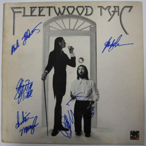 Gesigneerde Fleet Wood Mac LP